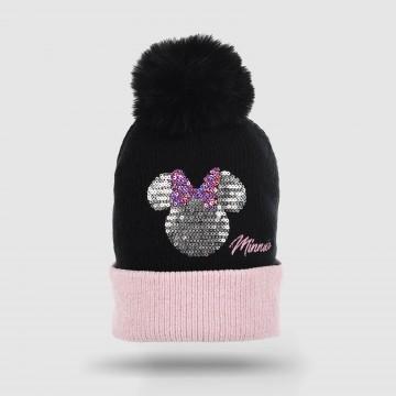 "Bonnet Pompom Fille ""Disney..."
