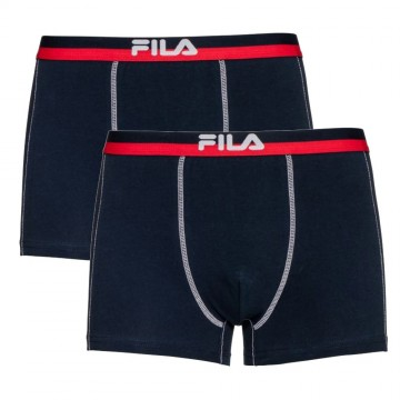 Lot de 2 Boxers FILA Homme en Coton Marine (Boxers) Fila chez FrenchMarket