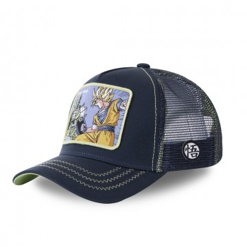 Casquette Trucker Dragon Ball Z Cell Games (Casquettes) Capslab chez FrenchMarket