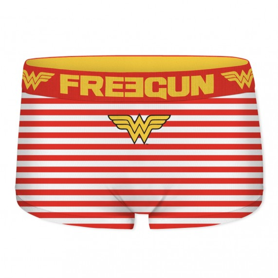 Lot de 2 boxers shortys FREEGUN Fille DC Comics Wonder Woman (Boxers/Shorty) Freegun chez FrenchMarket
