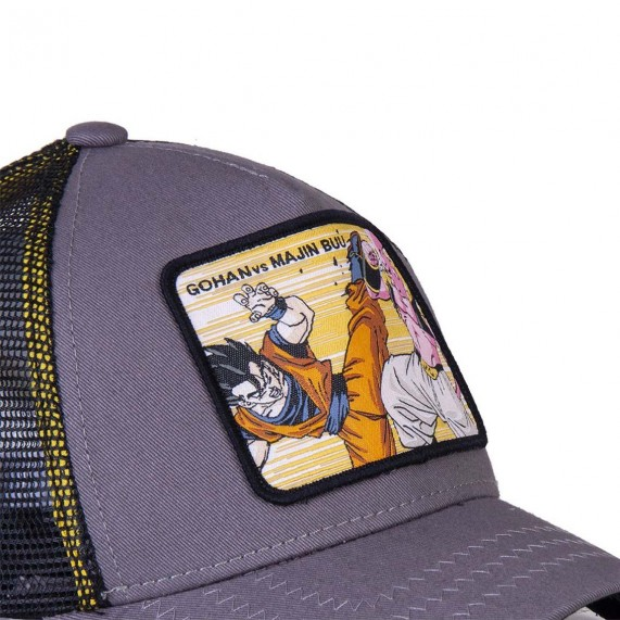Casquette Trucker Dragon Ball Z Gohan Vs Buu (Casquettes) Capslab chez FrenchMarket