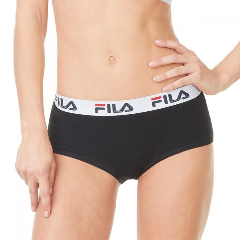 Shorty FILA Coton Femme Noir