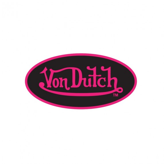 VON DUTCH Stickers Autocollant Customs (Pack01) (Autocollants/Stickers) Von Dutch chez FrenchMarket