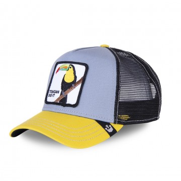 GOORIN BROS Casquette Style Trucker TOUCAN DO IT - Toucan  (Casquettes) chez FrenchMarket