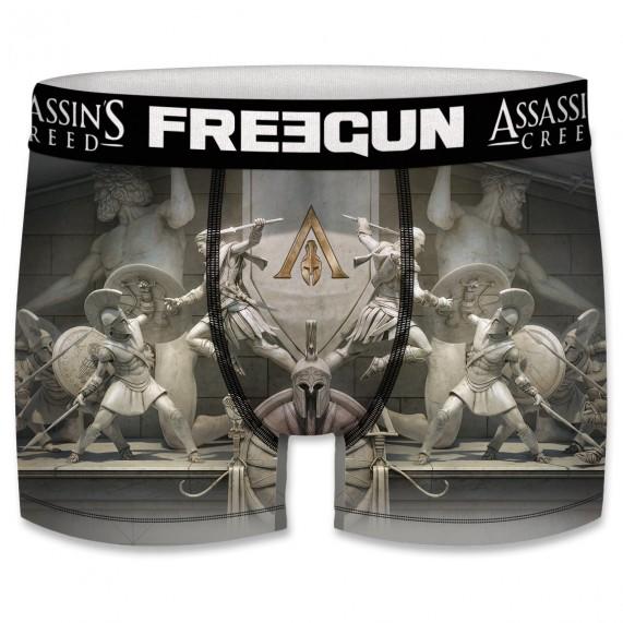 Boxer Freegun Homme Assassin's Creed Odyssey Spartiates  (Boxers) chez FrenchMarket