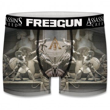 Boxer Freegun Homme Assassin's Creed Odyssey Spartiates  (Boxers) chez FrenchMarket