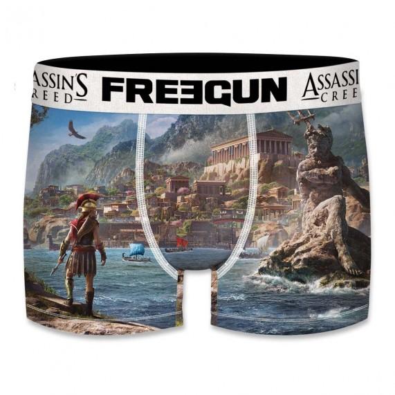 Boxer Freegun Homme Assassin's Creed Odyssey Athènes  (Boxers) chez FrenchMarket