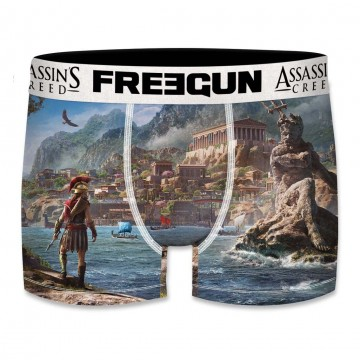 Boxer Freegun Homme Assassin's Creed Odyssey Athènes  (Boxers) chez FrenchMarket