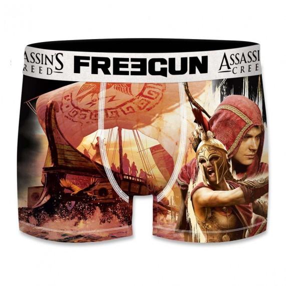 Lot de 5 Boxers Freegun Homme Assassin's Creed Odyssey (Boxers) Freegun chez FrenchMarket