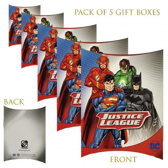 Lot de 5 Boites cadeaux berlingot Justice League 2 (Boites cadeaux) French Market chez FrenchMarket