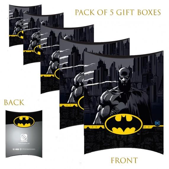 Lot de 5 Boites cadeaux berlingot Batman Comics 80's (Boites cadeaux) French Market chez FrenchMarket