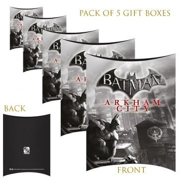 Lot de 5 Boites cadeaux berlingot Batman Arkham City (Boites cadeaux) French Market chez FrenchMarket