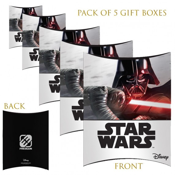Lot de 5 Boites cadeaux berlingot Star Wars Vador (Boites cadeaux) French Market chez FrenchMarket