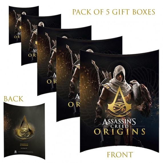 Lot de 5 Boites cadeaux berlingot Assassin's Creed Origins (Boites cadeaux) French Market chez FrenchMarket