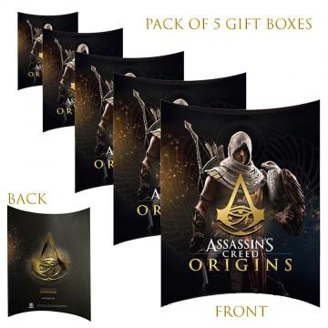 Lot de 5 Boites cadeaux berlingot Assassin's Creed Origins  (Boites cadeaux) chez FrenchMarket