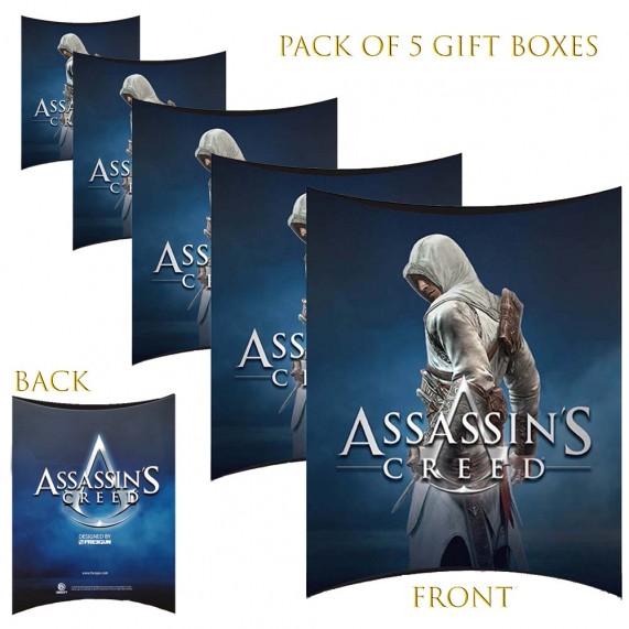 Lot de 5 Boites cadeaux berlingot Assassin's Creed (Boites cadeaux) French Market chez FrenchMarket