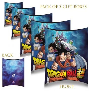 Lot de 5 Boites cadeaux berlingot Dragon Ball Super (Boites cadeaux) French Market chez FrenchMarket