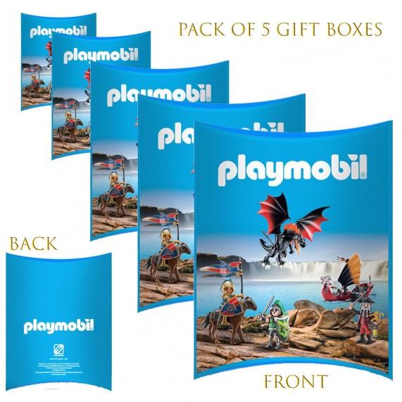 Lot de 5 Boites cadeaux berlingot Playmobil (Boites cadeaux) French Market chez FrenchMarket