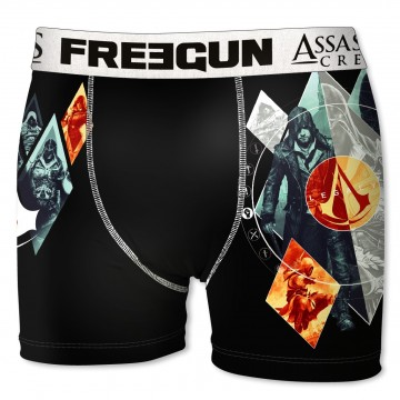 Boxer Freegun Homme Assassin's Creed Light  (Boxers) chez FrenchMarket