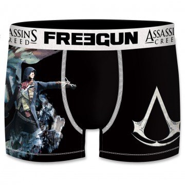 Boxer Freegun Homme Assassin's Creed Arno Dorian  (Boxers) chez FrenchMarket