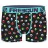 Boxer Freegun Homme Jeans Denim Rockabilly Pin's  (Boxers) chez FrenchMarket