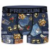 Boxer Freegun Homme Jeans Denim Rockabilly Tigre (Boxers) Freegun chez FrenchMarket