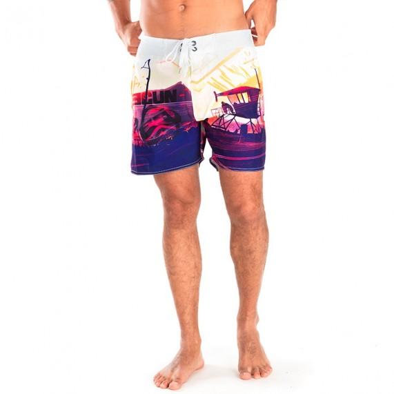 FREEGUN Boardshort Court Homme Bay (Boardshorts/Shorts de Bain) Freegun chez FrenchMarket