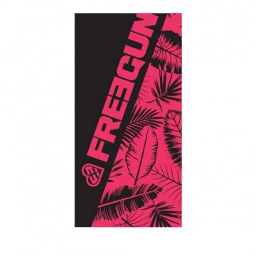Serviette de Plage FREEGUN Palmier Rose 70 x 140 cm (Serviettes de Bain) Freegun chez FrenchMarket