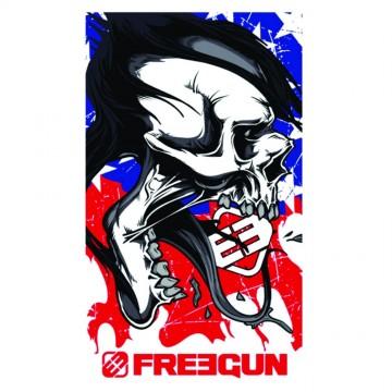 Serviette de Plage FREEGUN USA 100% Coton dimension 100 * 170 CM (Serviettes de Bain) Freegun chez FrenchMarket