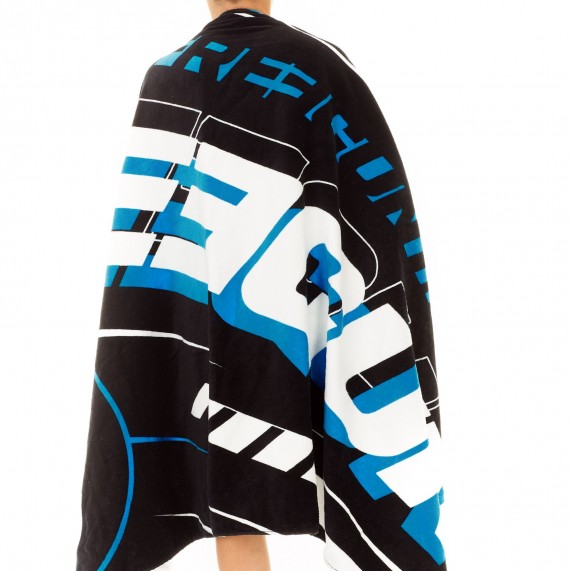 Grande Serviette de Plage FREEGUN Racing Bleu 100% Coton (Serviettes de Bain) Freegun chez FrenchMarket