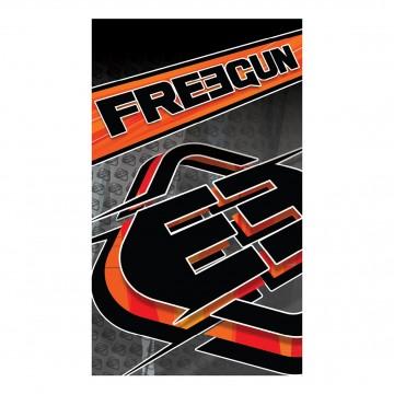 Serviette de Plage FREEGUN Racing Orange 100% Coton dimension 100 * 170 CM (Serviettes de Bain) Freegun chez FrenchMarket