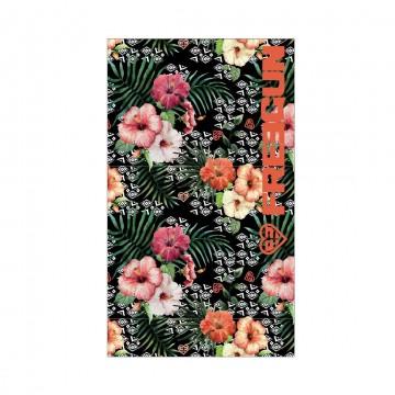 Serviette de Plage FREEGUN Fleurs 100% Coton dimension 100 * 170 CM (Serviettes de Bain) Freegun chez FrenchMarket