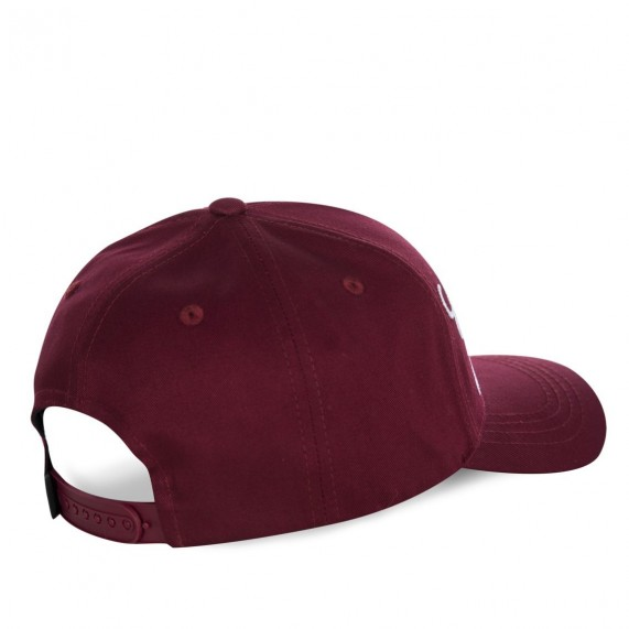 Casquette Baseball Customs Bordeaux (Casquettes) Von Dutch chez FrenchMarket