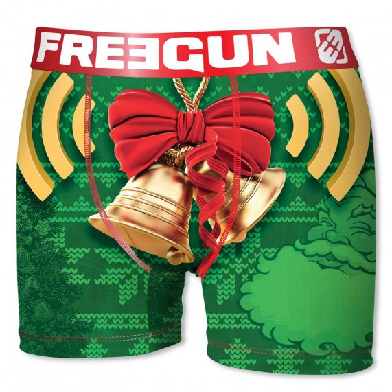 Boxer Freegun Garçon Collection de Noël Jingle Bells  (Boxers) chez FrenchMarket
