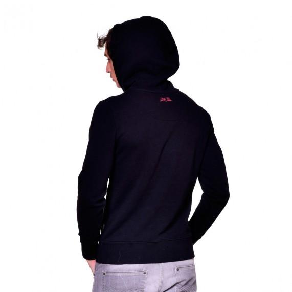 Sweat Capuche Hoodie Noir Logo Rouge (Pulls/Sweats) Von Dutch chez FrenchMarket