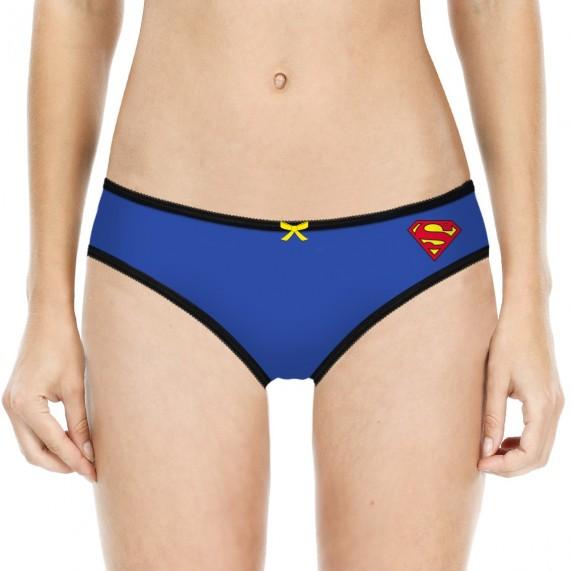 Lot de 4 Culottes Justice League Fille en Coton Superman (Culottes) Freegun chez FrenchMarket
