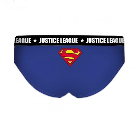 Lot de 2 Boxers Justice League Fille en Coton Superman (Boxers/Shorty) Freegun chez FrenchMarket
