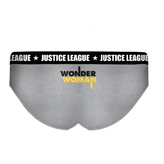 Lot de 2 Boxers Justice League Fille en Coton Wonder Woman (Boxers/Shorty) Freegun chez FrenchMarket