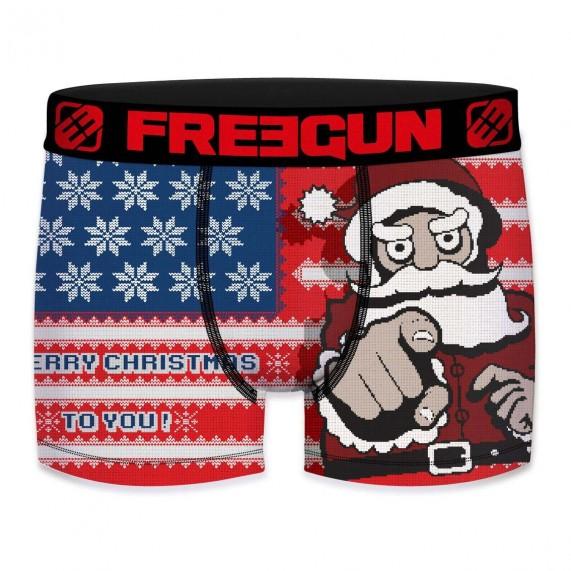 Boxer FREEGUN Homme Noël USA (Boxers) Freegun chez FrenchMarket