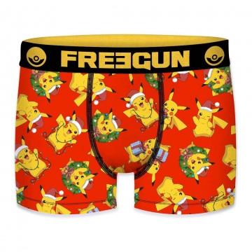 Boxer FREEGUN Garçon Pokemon Noël Cadeaux (Boxers) Freegun chez FrenchMarket