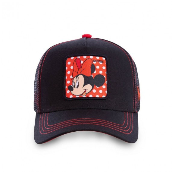Casquette Femme Trucker Disney Minnie Mouse (Casquettes) Capslab chez FrenchMarket