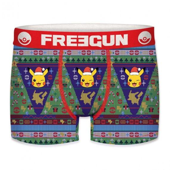 Boxer FREEGUN Garçon Pokemon Noël (Boxers) Freegun chez FrenchMarket