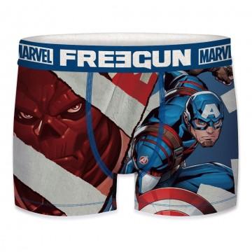 Boxer Freegun Garçon Marvel Captain America 2020 (Boxers) Freegun chez FrenchMarket
