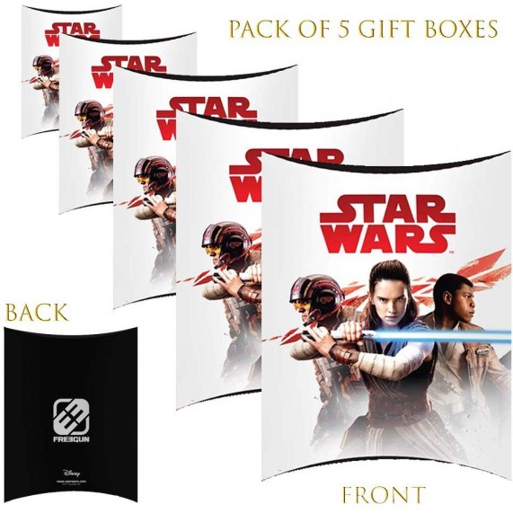 Lot de 5 Boites cadeaux berlingot Star Wars Leila (Boites cadeaux) French Market chez FrenchMarket