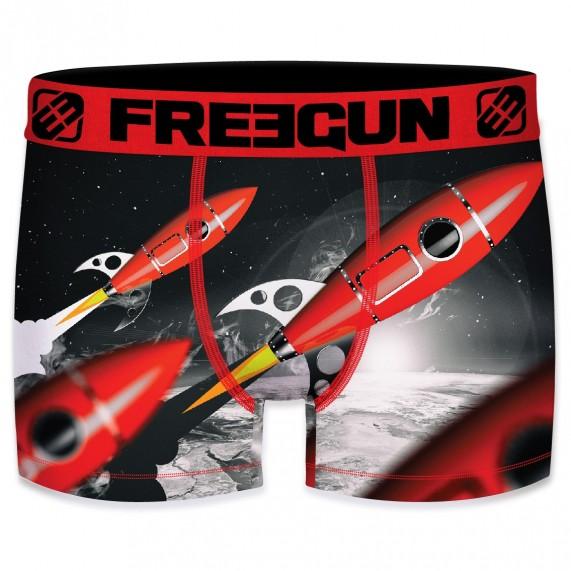 Boxer FREEGUN Homme Space Fusée (Boxers) Freegun chez FrenchMarket