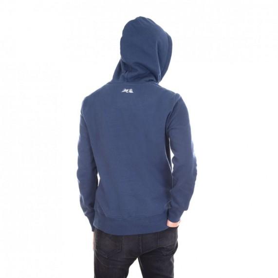 Sweat Capuche Hoodie Bleu Logo Blanc (Pulls/Sweats) Von Dutch chez FrenchMarket
