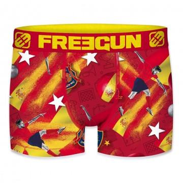 Boxers FREEGUN Homme Football Europe 2020 ESPAGNE  (Boxers) Freegun chez FrenchMarket