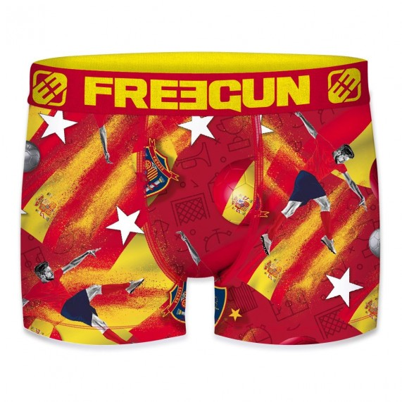 Boxers FREEGUN Garçon Football Europe 2020 ESPAGNE (Boxers) Freegun chez FrenchMarket