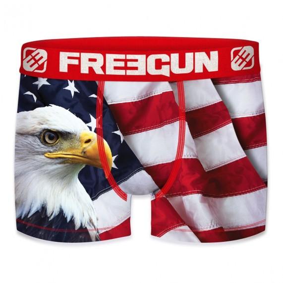 Boxer Homme USA Flag Eagle Kolorz (Boxers) Freegun chez FrenchMarket
