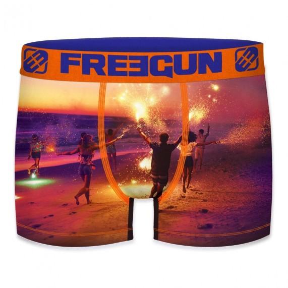 FREEGUN Boxer Homme Summer Collection 2020 Beach Fire (Boxers) Freegun chez FrenchMarket